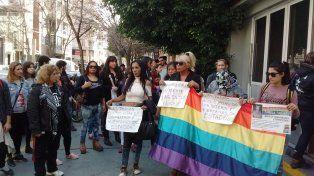 Protesta. Organizaciones trans reclamaron políticas de contención.