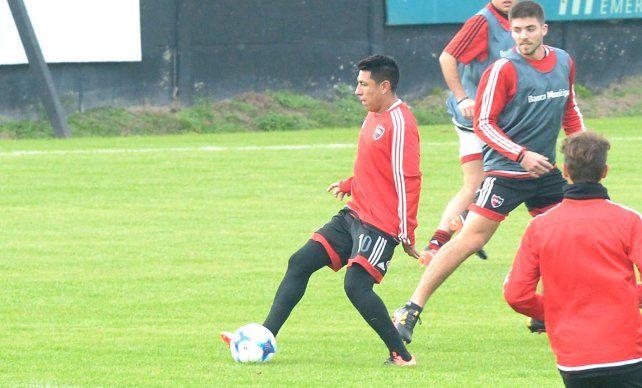Brian está activo. Sarmiento disputará el primer amistoso con la camiseta de Newells.