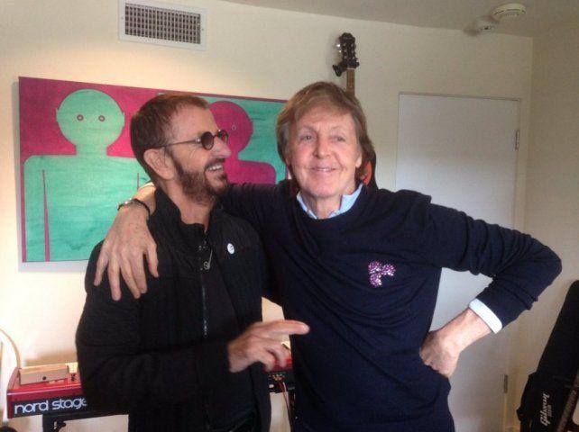 Ringo y Paul