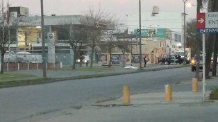 El choque múltiple se produjo esta madrugada en 27 de Febrero y Necochea.