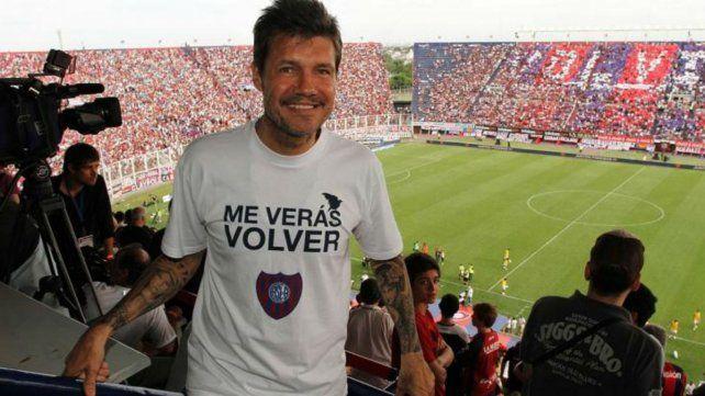 Tinelli anunció su regreso a San Lorenzo y no descartó volver a colaborar con la selección
