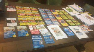 Desde Cambiemos Rosario denunciaron el robo de boletas en las mesas.