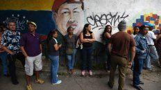 Una fila de votantes en Caracas. La prensa reportó una alta abstención en la capital venezolana.