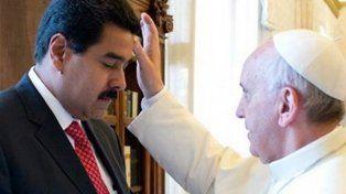 Nicolás Maduro fue recibido por el Papa Francisco en el Vaticano en octubre de 2016.