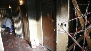 Conmoción en un Fonavi de zona sur por un incendio en el segundo piso