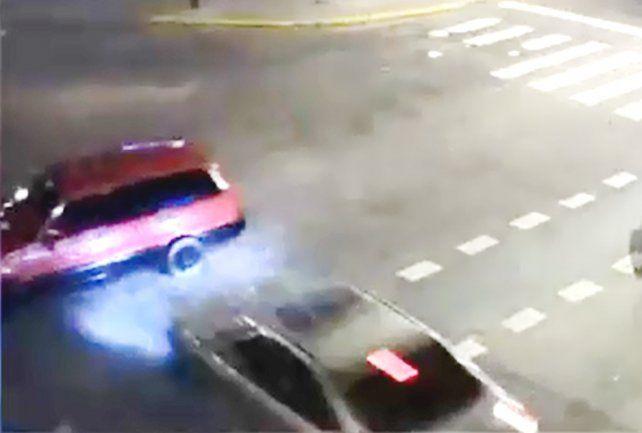 Picada mortal: el video del terrible choque en 27 de Febrero y Necochea