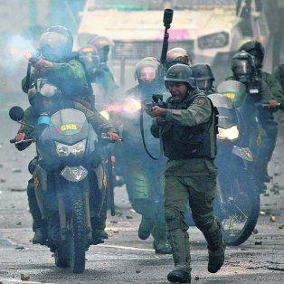 represión. La mano dura del chavismo se ha vuelto inocultable.