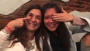 Noe junto a Silvia Di Sciancio