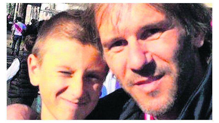 pavoroso. Marcos Milinkovic y su hijo Luka