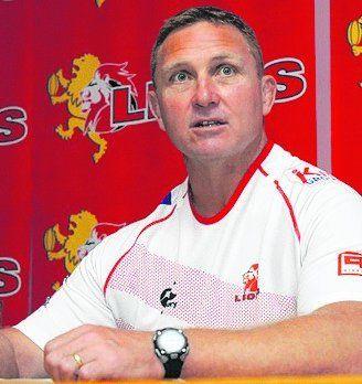 Lions. El coach Johan Ackermann