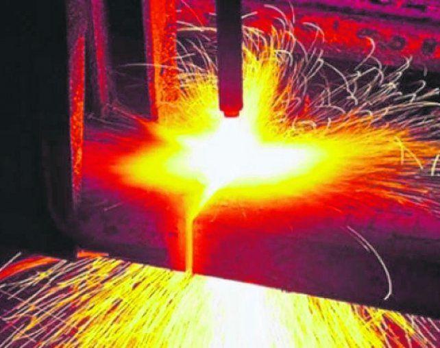 Freno. La producción siderúrgica experimentó un freno