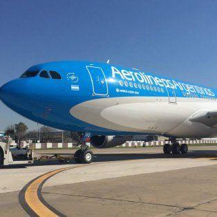 aerolineas argentinas suspendio el vuelo semanal a caracas por razones de seguridad