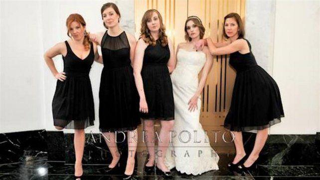 Una de las imágenes que tomó la fotógrafa durante el casamiento de la pareja que debe desembolsar la cifre millonaria.