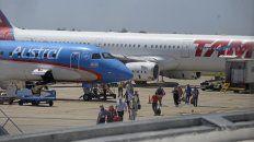 el movimiento de pasajeros crecio un 150 por ciento en el aeropuerto de rosario