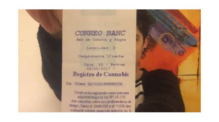 Uruguay. La gente dice que la marihuana es muy buena