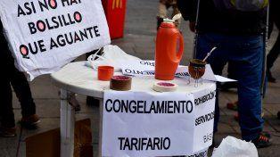 Resistencia. Los organismos vinculados a la defensa de los consumidores vienen manifestándose contra los incrementos de las tarifas.