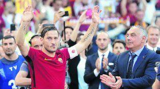 La 10 de Totti fue lanzada al espacio