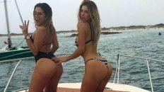 dos diosas voluptuosas de gran hermano mostraron juntas sus curvas en ibiza
