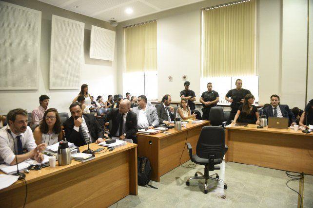 Una de las audiencias del juicio de primera instancia por el caso Herrera.