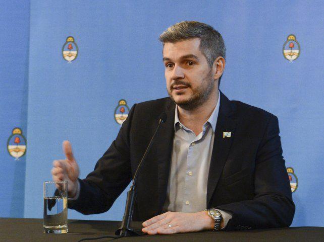 El jefe de Gabinete del gobierno de Mauricio Macri