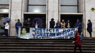 Familiares y amigos de Jonatan Herrera renuevan el reclamo de justicia en Tribunales