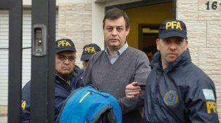 Víctor Manzanares al momento de su detención.