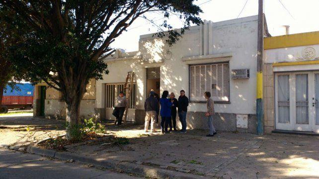 La casa de la que los malvivientes se llevaron cerca de 200 mil pesos en efectivo.