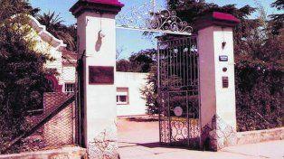 Emblemática. Una foto de la década del 80. La entidad es la más antigua de la ciudad y la región en la atención de pacientes psiquiátricos.