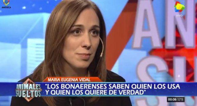 María Eugenia Vidal aseguró que no será candidata a presidente de la Nación en 2019
