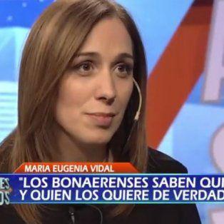 maria eugenia vidal aseguro que no sera candidata a presidente de la nacion en 2019