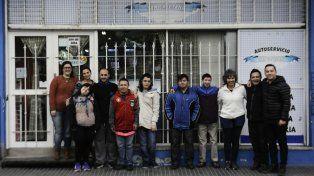 Trabajo de integración. El autoservicio de Buenos Aires al 2000 abrió sus puerta a los jóvenes de la Gurí.
