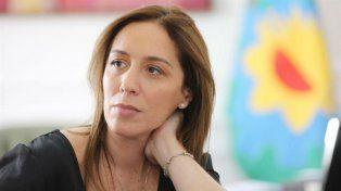 Resistencia. La gobernadora de Buenos Aires, en pie de guerra con sus colegas peronistas.