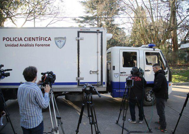 El cuerpo de Anahí fue hallado semienterrado en la Reserva Natural Municipal Santa Catalina.