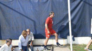 El DT. Cuffaro Russo quiere poner en cancha al equipo más competitivo posible.