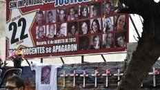 la expropiacion del terreno de salta 2141, con el apoyo de los familiares de las victimas