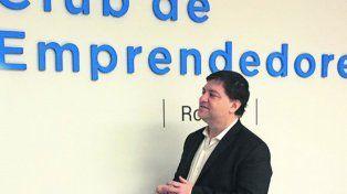 Impulso. Campero visitó en Rosario del Club de Emprendedores de Rosario.