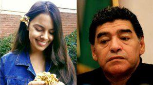 El sentido recuerdo de Maradona para Anahí, la adolescente asesinada en Buenos Aires
