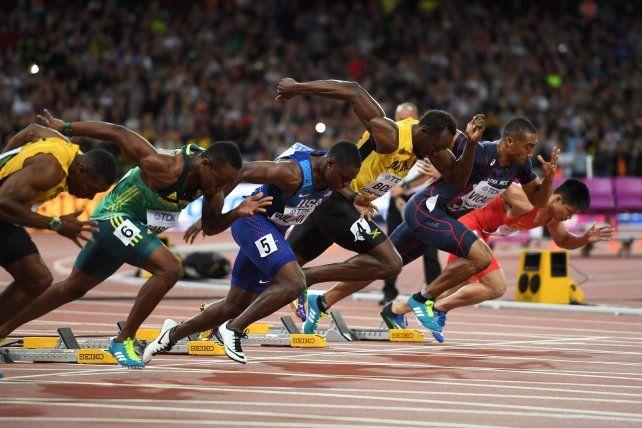 Usain Bolt explicó por qué perdió la final de los 100 metros del Mundial de Londres