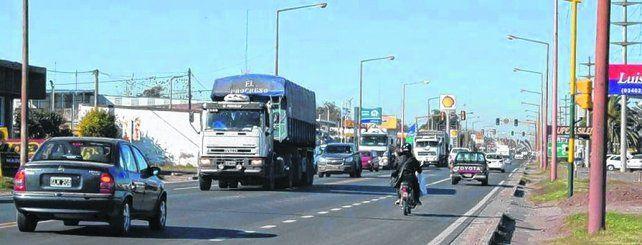Sobrecarga de vehículos. El intenso tránsito en la zona urbana de Venado ya generó una víctima fatal.