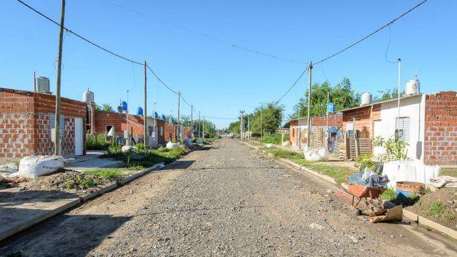 Plan Abre: construyen nuevas viviendas en barrio Polledo