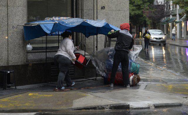 Alerta meteorológico de corto plazo por tormentas fuertes para Rosario y la región