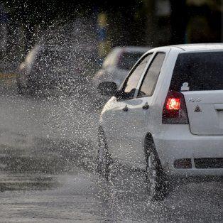 alerta a corto plazo por tormentas fuertes con rafagas para rosario y la region
