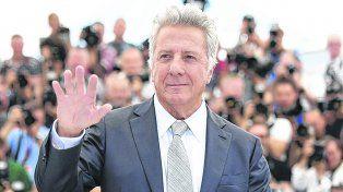 Meses atrás desfiló por la alfombra roja de Cannes para presentar el filme The Meyerowitz Stories.