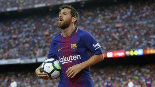 Leo sigue dejando su marca en el fútbol mundial.