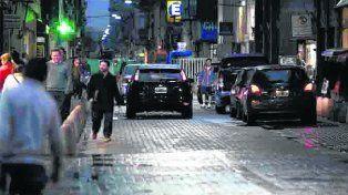 despacito. Los vehículos comenzaron ayer a transitar por la flamante arteria.