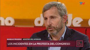 Frigerio dijo que es mentira que no haya diálogo con las organizaciones que protestan