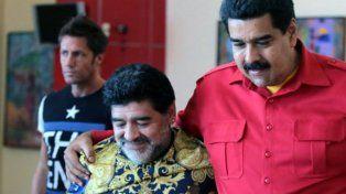 Maradona envió su apoyo a Maduro y se puso a disposición para pelear como un soldado
