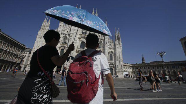 Una ola de calor azota a varios países de Europa