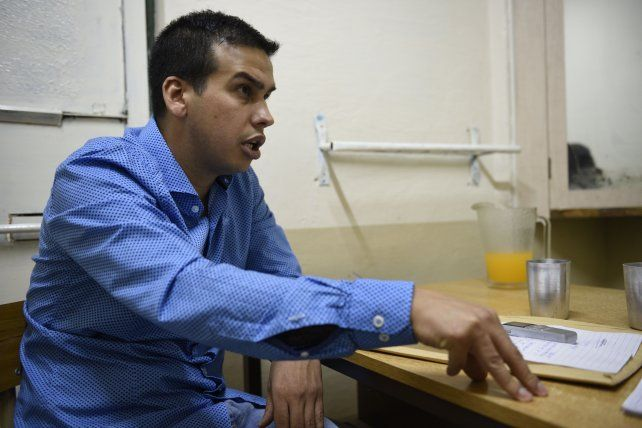 Monchi habló con La Capital en la cárcel.