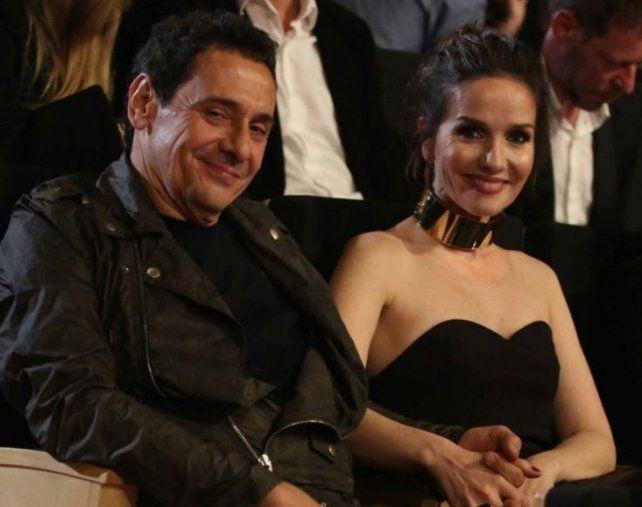 Las fotos de Natalia Oreiro y Ricardo Mollo súper mimosos en la entrega de los Premios Cóndor
